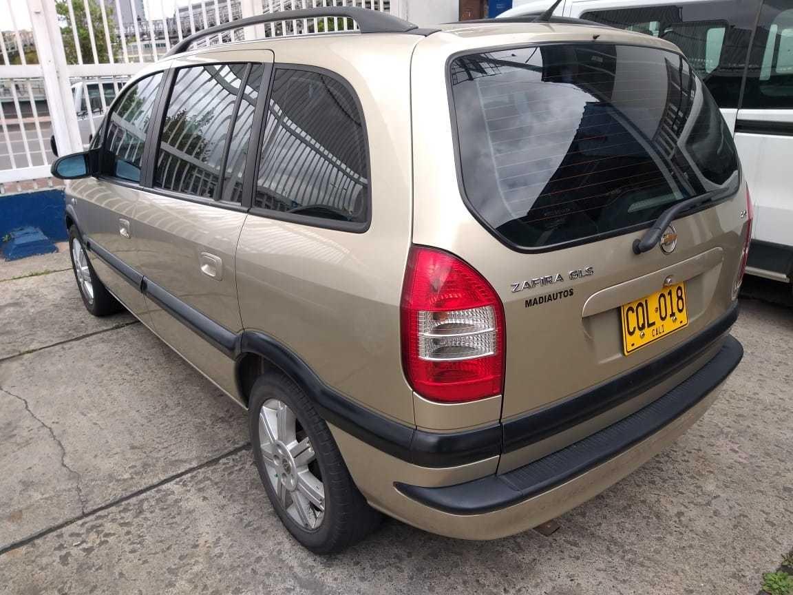 Chevrolet Zafira Gls 21 900 000 En Mercado Libre