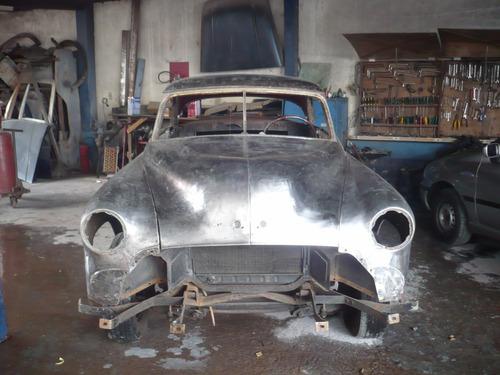 chevrolet/gm bel air 1951 coupe hardtop custom