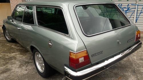 chevrolet/gm caravan 1983 verde silverstar 4 cil 5 marchas