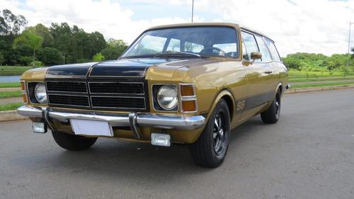 chevrolet/gm caravan ss 6 cil. 1978 dourada