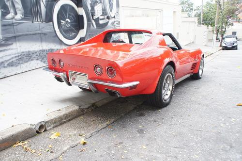 chevrolet/gm corvette 1972 stigray targa v8