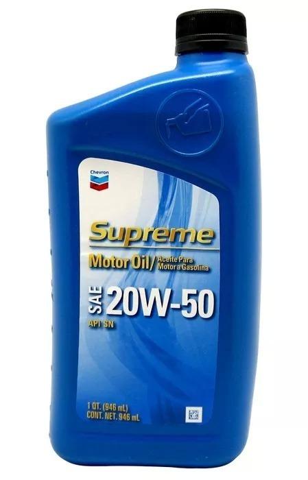 Chevron Aceite 20w 50 Caja Por 6 Unidades Envio Gratis ...