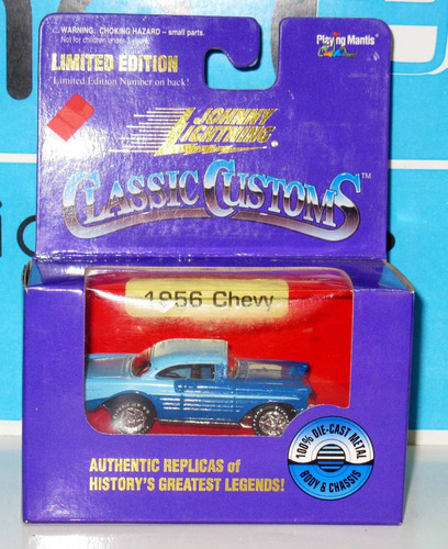 chevy 1956 - 1/64 johnny lightning classic customs