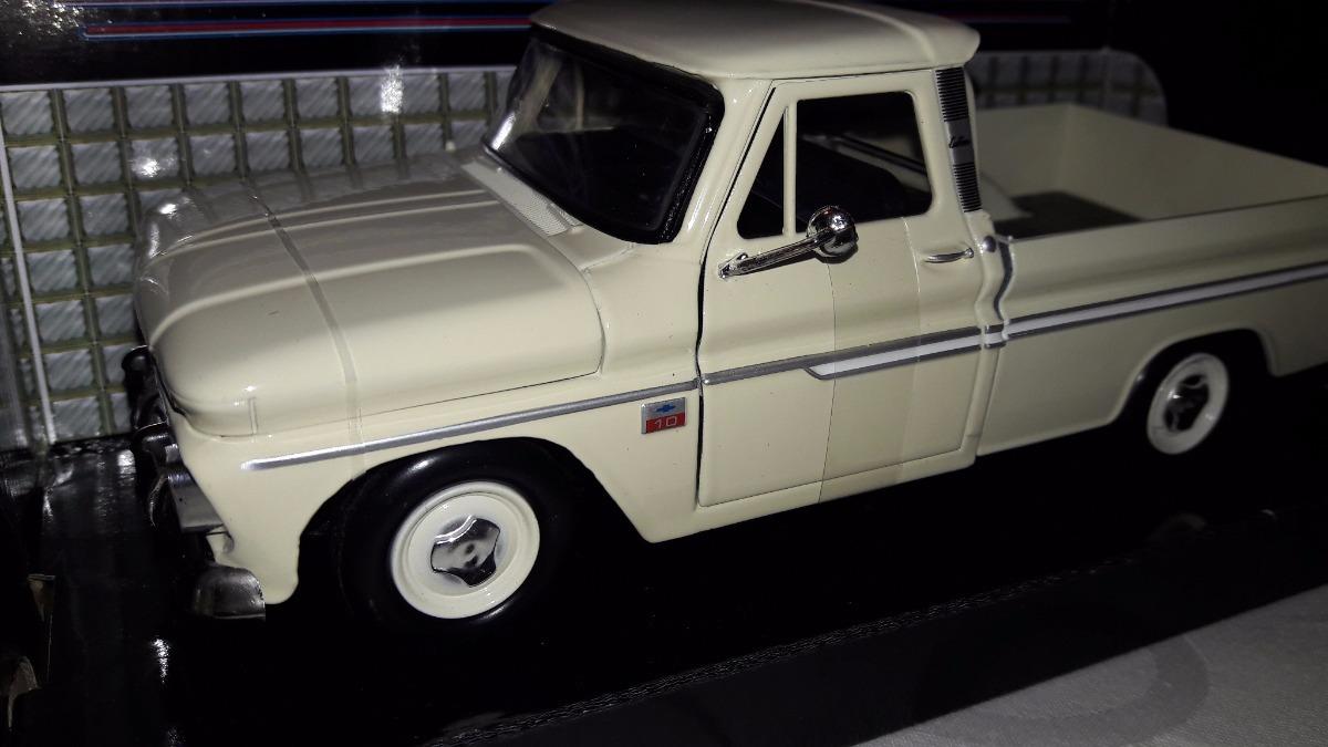 Chevy C10 Fleetside 1966 1 24 880 88000 En Mercado Libre Cargando Zoom