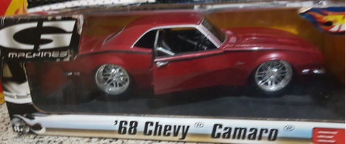 chevy camaro 68 hot wheels 1/18