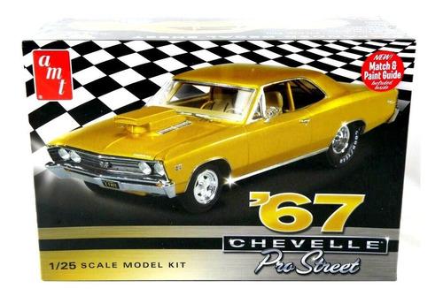 chevy chevelle pro street 1967 [1:25] amt 876/1 plastimodelo