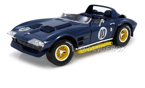 chevy corvette grand sport 1964 1:18 yat ming #92697