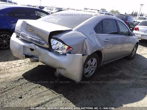 chevy impala 2008  yonkeado para partes