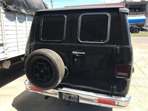 chevy van furgon