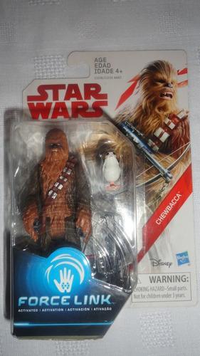 chewbacca star wars force link 3.75 pulgadas
