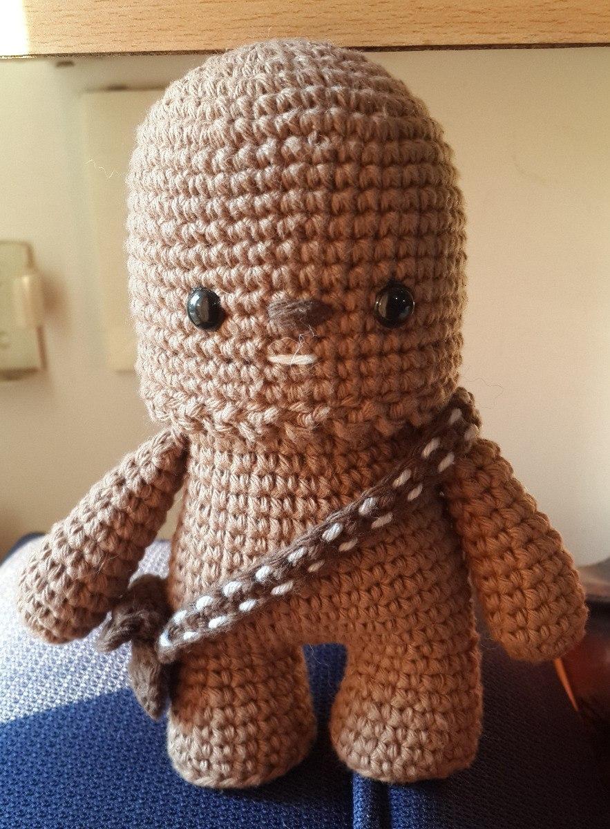 Amigurumis mano de ganchillo Star Wars Jar Jar Binks Muñeco ... | 1200x883