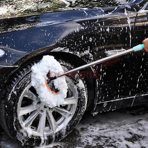 chezhiwen cepillo de coche ajustable de acero inoxidable