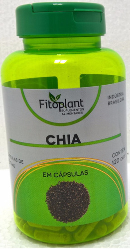 chia original 500mg 120 capsulas kit 6 potes