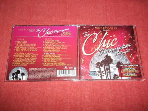 chic organization - up all night cd doble nac ed 2014 mdisk