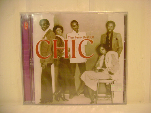 chic - the very best of chic cd nuevo sellado imperdible!!!