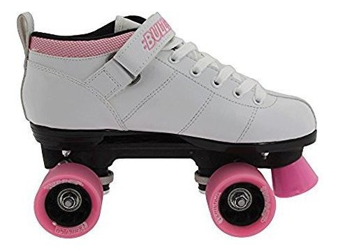 chicago bullet speed roller patines para mujer color blanco