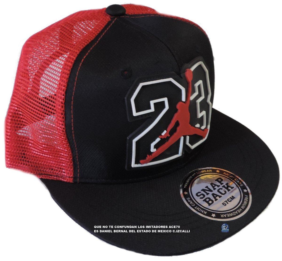6ae234b453fc8 Chicago Bulls Gorra 23 Jordan Envio Gratis Nba1 Ace70 -   200.00 en ...