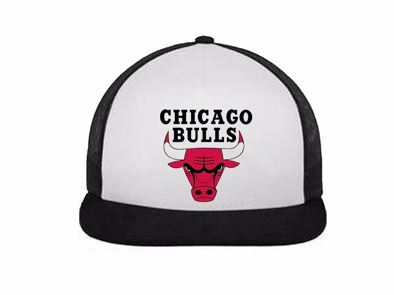chicago bulls nba gorras trucker planas. Cargando zoom. 4fed0c62fdf