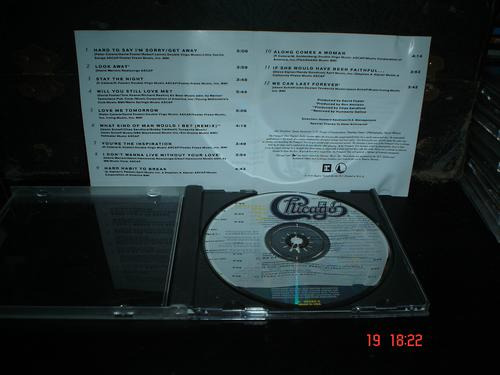 chicago -  cd album -  greatest hits 1982 - 1989