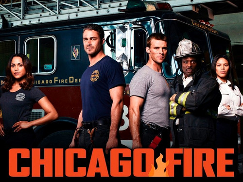 chicago fire - completa - dvd!