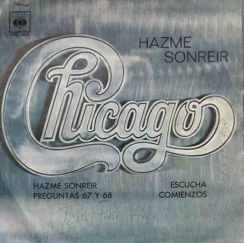 chicago, hazme sonreir, preg. 67 y 68,  1970 en buen estado