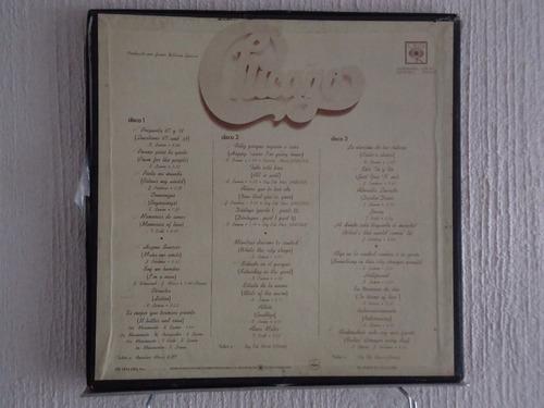 chicago - iv, contiene 3 discos