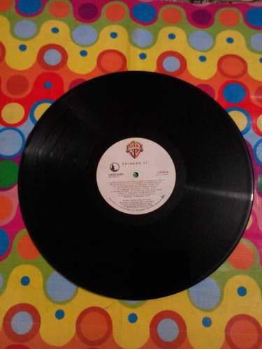 chicago lp 17. 1984 . disco en excelente estado.