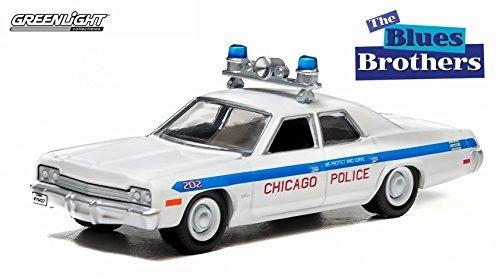 chicago policia 1975 dodge monaco de la pelicula clasica the