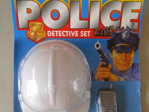 chicago policial fantasia infantil menino criança completo