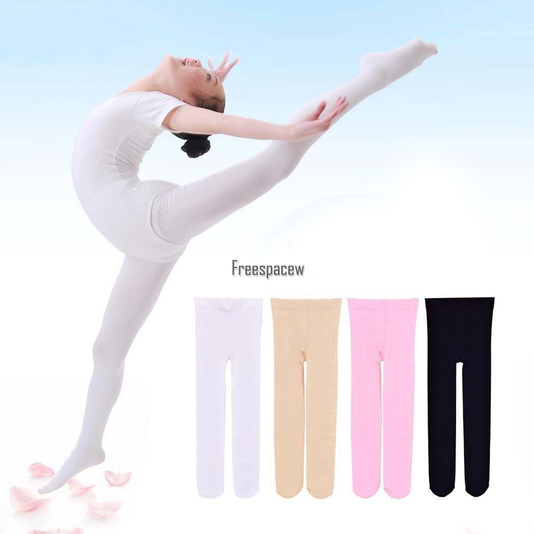 Chicas Ballet Danza Leotardos Medias Sin... (black, S) - $ 18.990 en ...