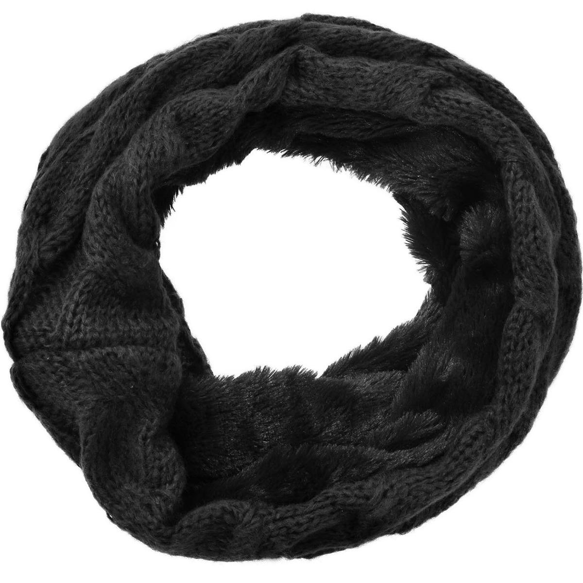 Chicas Mano Invierno Infinito Tejido... (black_fur) - $ 22.990 en ...