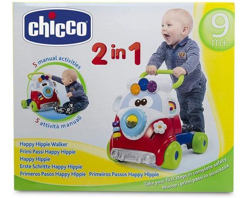 chicco andadera happy hippy