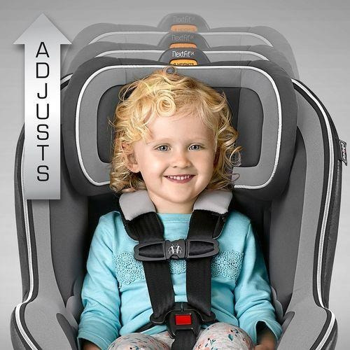 chicco autoasiento nextfit spectrum, color gris