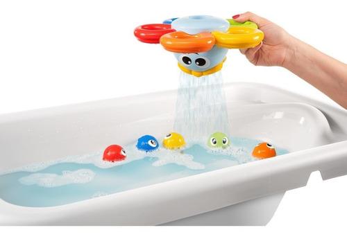 chicco billy the octopus juguete para baño pulpo con peces