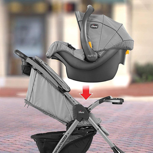 chicco carriola travel system mini bravo plus midnight