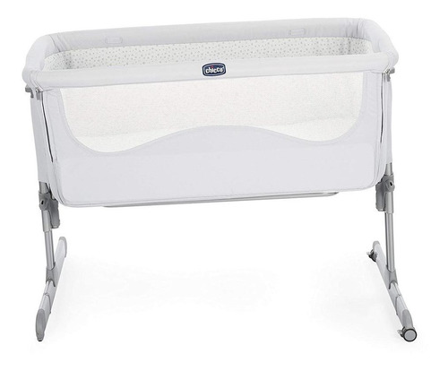 chicco cuna colecho next2me light grey, color gris