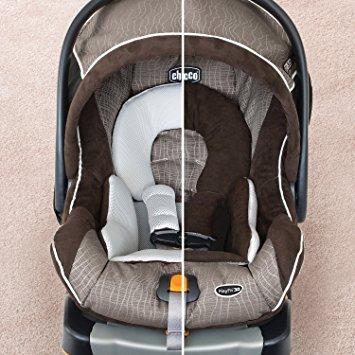 chicco keyfit 30 mágica asiento infantil, negro / gris