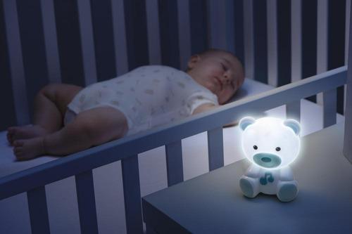 chicco lámpara osito dulces sueños, color azul