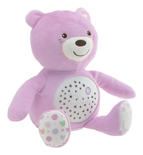 chicco proyector oso baby bear rosa