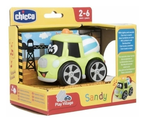 chicco sandy turbo camioneta 9356