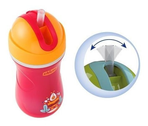 chicco sport cup 14m+, color rosa