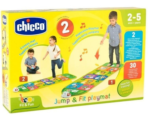 chicco tapete didáctico jump & fit