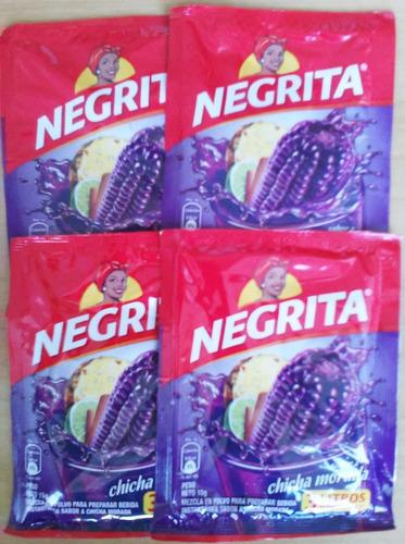 chicha morada negrita suco milho roxo peruano faz 3litros