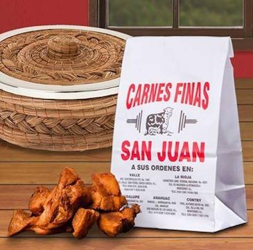 chicharrón 2 kg de la san juan deliciosos