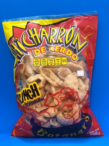 chicharron botanero 250 gm