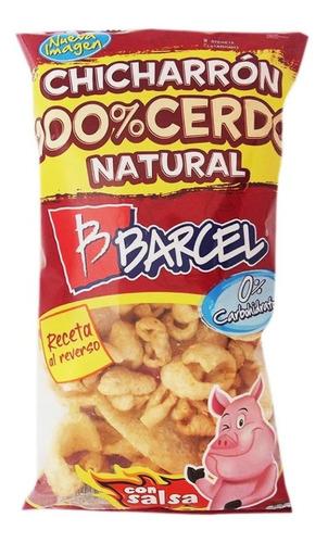 chicharrón de cerdo barcel natural 90 g