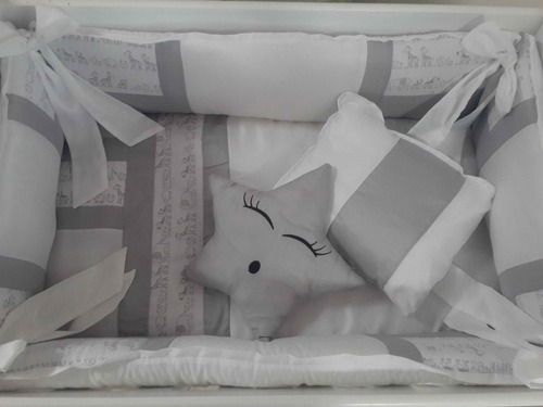 chichonera, set de chichonera para cuna, modelo clasico