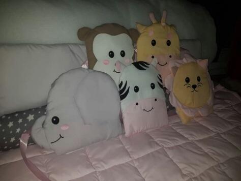 chichoneras almohadones animalitos safari