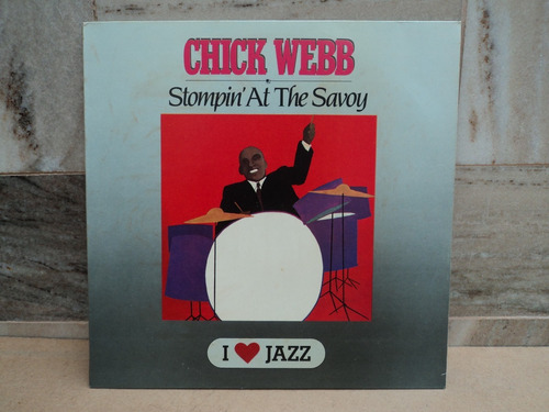 chick webb-stompin' at the savoy-lp vinil