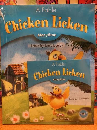 chicken licken - storytime w/cd level 1 - express publishing